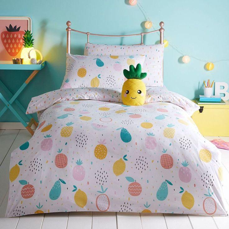 Bluezoo Multicoloured 'Fruit' Bedding Set From Debenhams   Home, Furniture & DIY, Bedding, Bed Linens & Sets   eBay!