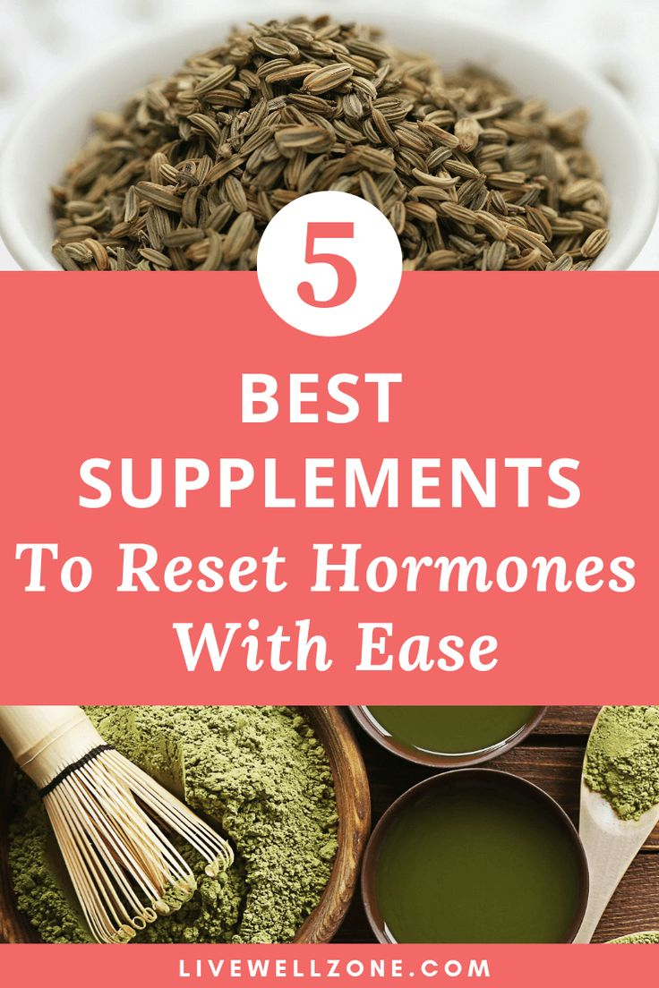 3 supplements for female hormonal imbalance you probably