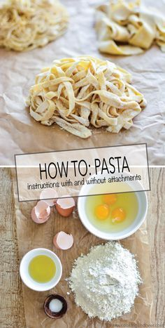 HOW TO: Fresh Homemade Pasta | www.cookingandbeer.com