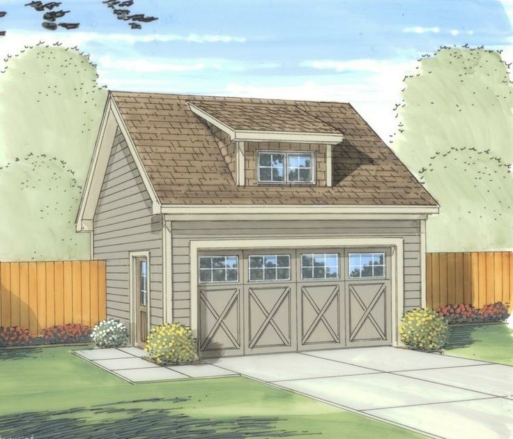 House Plan 96300099 525 Square Feet Garage guest