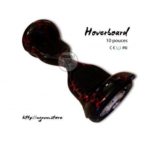 Hoverboard 10'' Noir Rouge