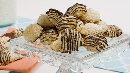 Chocolate Coconut Mounds - Recipes - Best Recipes Ever - You can use only 2 oz (60 g) chocolate to drizzle over top.