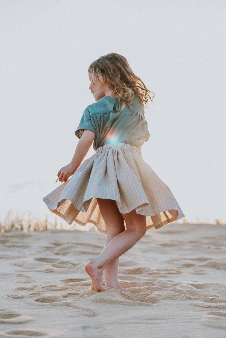 d618686ba3eca Handmade Linen Twirl Skirt | MiyaAndMa on Etsy | Sugar & Spice ...