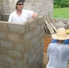 How to build a cinder block house