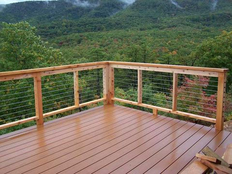 Top 25 Ideas About Deck Balustrade On Pinterest Cable