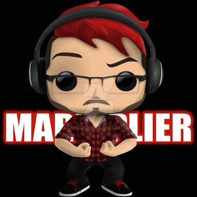 Red haired Markiplier pop vinyl