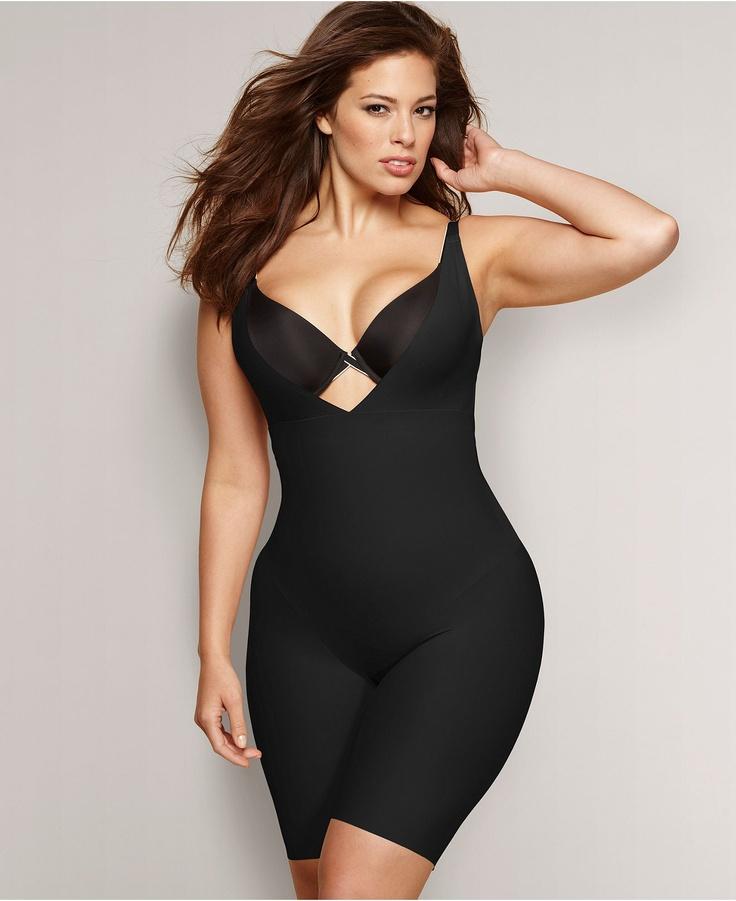 Flexees by Maidenform Plus Size Shapewear, Wear Your Own Bra Firm Control Singlet 12558 - Plus Size Sale & Clearance - Plus Sizes - Macys