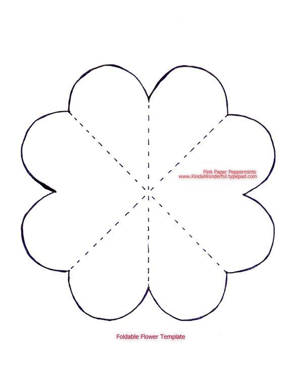 Resultado de imagem para plantillas paper flowers