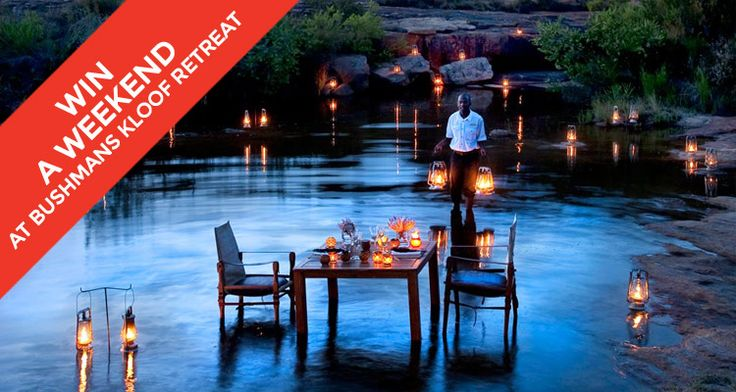 Luxury accommodation, impeccable service, game spotting and gourmet food make Bushmans Kloof the ultimate getaway. Win a two-night's stay for two.