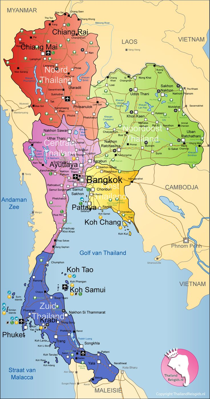 The projects Thai Children's Trust supports are in Pattaya, Bangkok, Koh Lak, Nong Kai and Mae Sot.