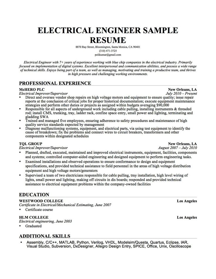 134 best Best Resume Template images on Pinterest Engineering - sample resume for fresh graduate