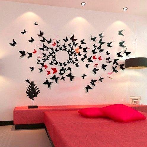 Papillon 3D Wall Art Par Thedispensery Sur Etsy