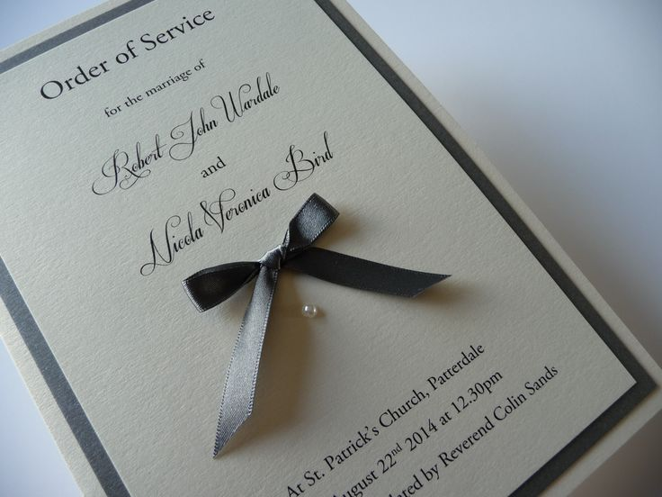 1000+ Images About Order Of Service On Pinterest