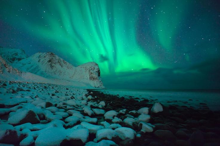 The Frozen North by Chris Burkard via SURFER Magazine