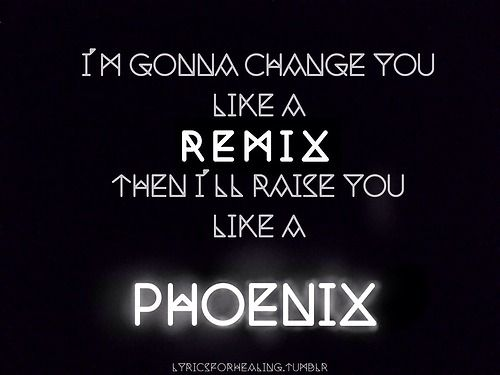 Band Music Lyrics Fall Out Boy The Phoenix - Wattpad