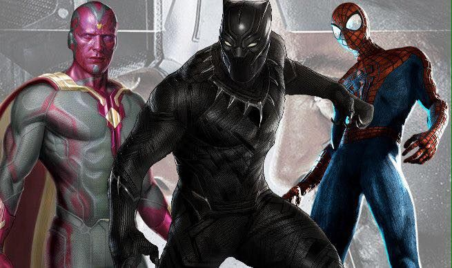 'Spider-Man', 'Black Panther', and 'Vision' will have strong arcs in 'Captain America: Civil War' according to the Russo Brothers