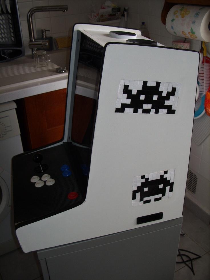 Building A Custom Arcade Cabinet Arcade Build Diy Games Pinterest Arcade Games Arcade