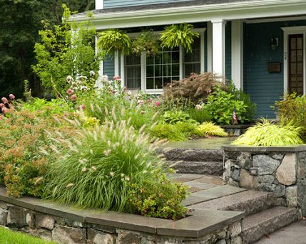 find this pin and more on home outside the stone walls of this front yard