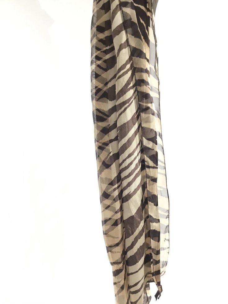 Brown/Gold Scarf