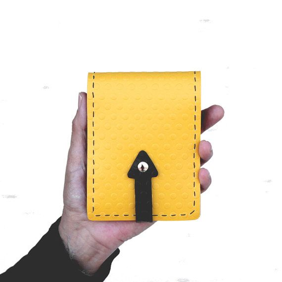 Mens wallet with coin pocket Vegan wallet for men Personalized
