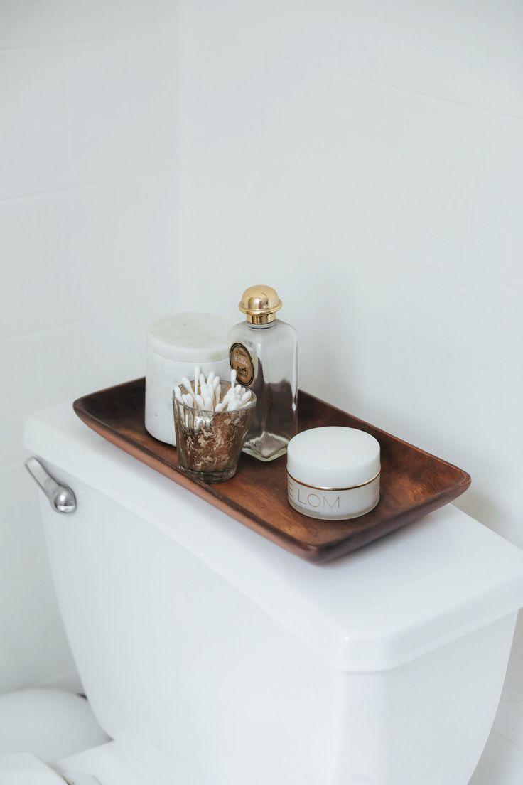 Bathroom ideas, organization, jewelry tray