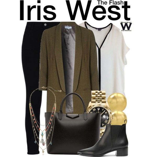 Inspired by Candice Patton as Iris West on The Flash
