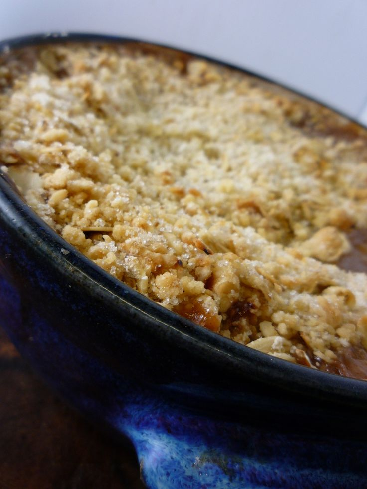 Thermomix Apple Crumble Recipe - Thermomix Recipes
