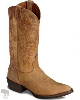 Men's Stampede Puma Cowboy Boots Medium Toe by Justin