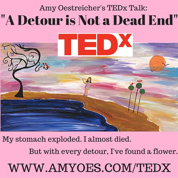 TEDx Talk: A Detour is Not a Dead End