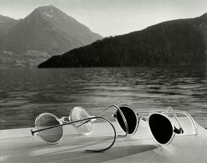 Sunglasses Lake Lucerne Switzerland, 1936 - A moment of surreal glamour from Herbert List, who pioneered what he called 'fotografia metafisica' – a style that suggested dream states