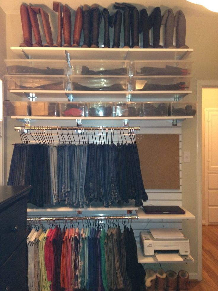 Slat Wall Closet Closets Pinterest Closet And Slat Wall