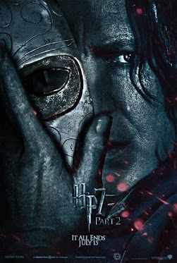 Severus Snape poster from Harry Potter and the Deathly Hallows