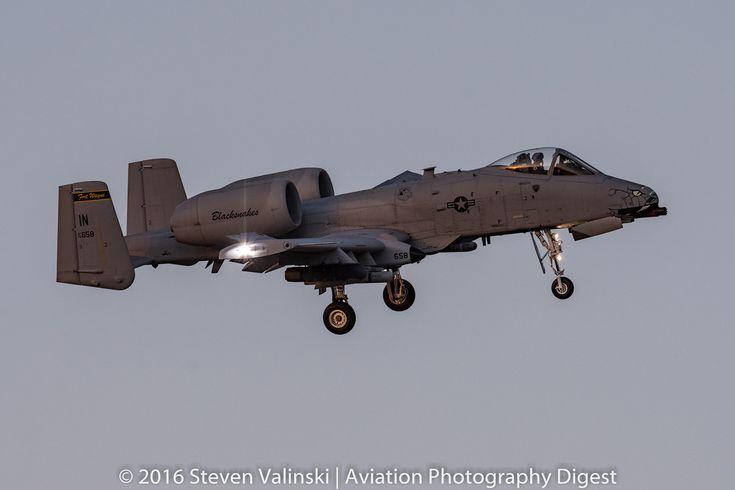 "https://flic.kr/p/EnxTdv | Snake in the Dark | Fairchild Republic A-10C Thunderbolt II ""Warthog""  78-0658  163d Fighter Squadron (163d FS) ""Blacksnakes""  Indiana Air National Guard  Davis-Monthan AFB, AZ USA"