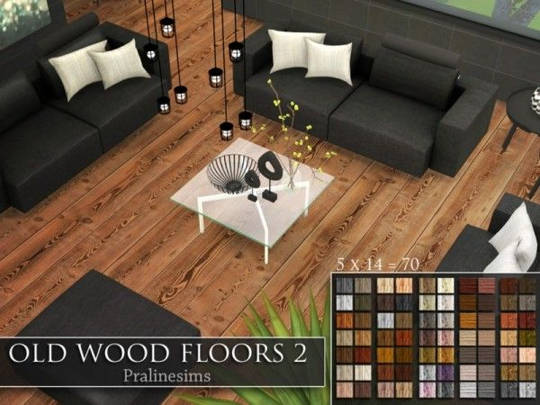Marvelous The Sims Resource: Old Wood Floors 2 By Pralinesims U2022 Sims 4 Downloads