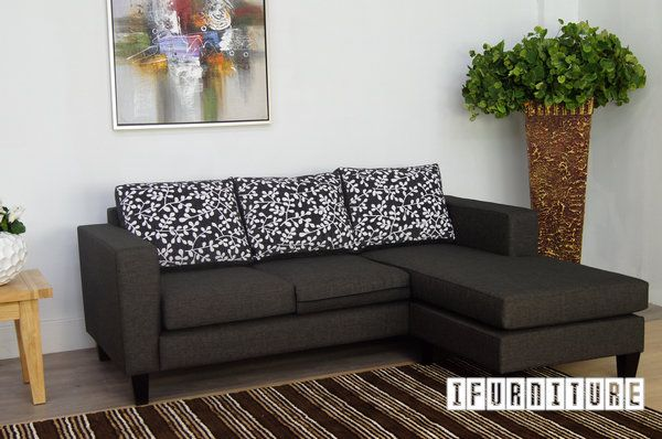 MEZZO Reversible 3 Seat with Ottoman Sofa Series *Made by Order in NZ , Sofa & Ottoman, NZ's Largest Furniture Range with Guaranteed Lowest Prices: Bedroom Furniture, Sofa, Couch, Lounge suite, Dining Table and Chairs, Office, Commercial & Hospitality Furniturte