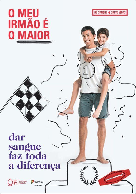 """Campanha de Promoção da Dádiva de Sangue (2014) """"O meu irmão é o maior"""""""