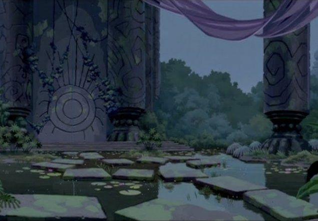 Atlantis Throne Room