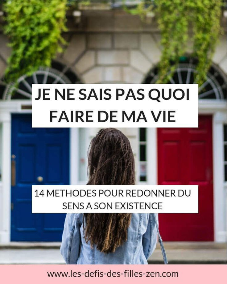 Quoi Faire De Ma Vie : faire, Faire, Comment, Redonner, Saviez, Faire,