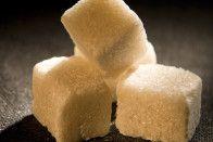 Thre sugar cubes.