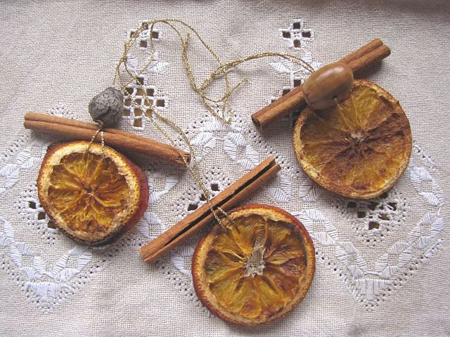 Lovely Christmas Decorations From Nature Part - 12: Handmade Christmas Ornaments | DIY Christmas Ornaments » Handmade Citrus  And Cinnamon Christmas ... Natural ...