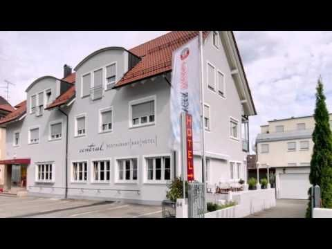 Central Hotel Friedrichshafen - Friedrichshafen - Visit http://germanhotelstv.com/central-friedrichshafen This modern hotel enjoys a quiet location close to Friedrichshafens Stadtbahnhof railway station and town centre just a 5-minute walk from the shores of Lake Constance  Here at the Central Hotel you can expect cosily furnished en-suite rooms... -http://youtu.be/i2U6rBRVZa4