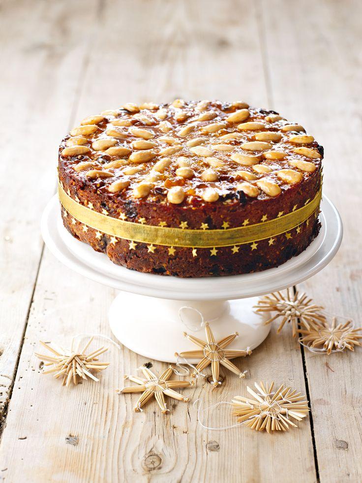 Gorgeously Golden Fruit Cake