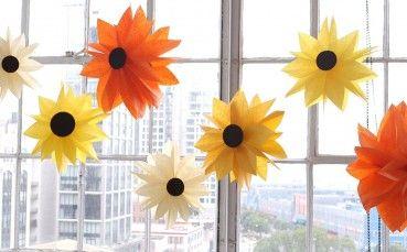 DIY Paper Bag Flowers