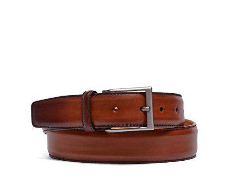 54d1bb30707 Magnanni Boltan Cognac Mens Leather Belt  belts  menaccessories  fashion   clothing