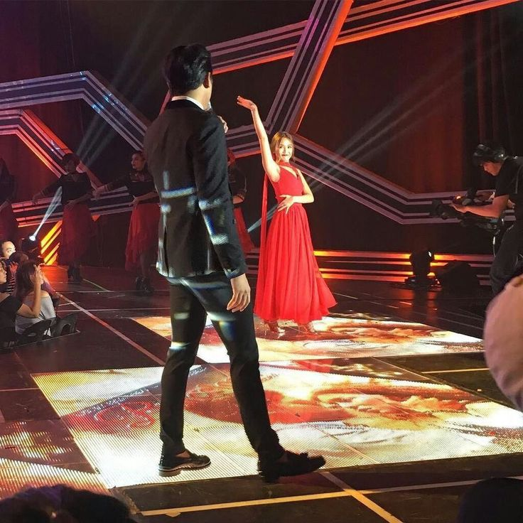 """This is the handsome Daniel Padilla and the pretty Kathryn Bernardo performing a Latin song (which is """"Sway"""" by Michael Bublé) and a flamenco dance during their production number during ASAP at ABS-CBN Studio 10 last August 28, 2016. Indeed, KathNiel is my favourite Kapamilya love team, and they're amazing Star Magic talents. #KathrynBernardo #TeenQueen #BarcelonaALoveUntold #ASAP #ASAPGoNaGo"""