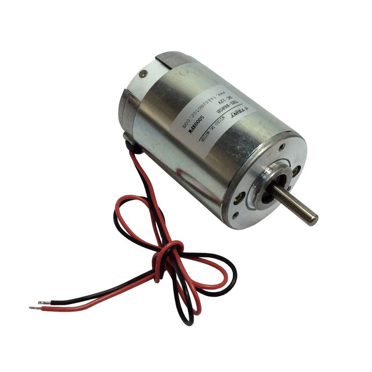 DC Electric Motor High Speed 12V 5000rpm Micro Bruch PMDC Motor with Ball Bearings Long Life
