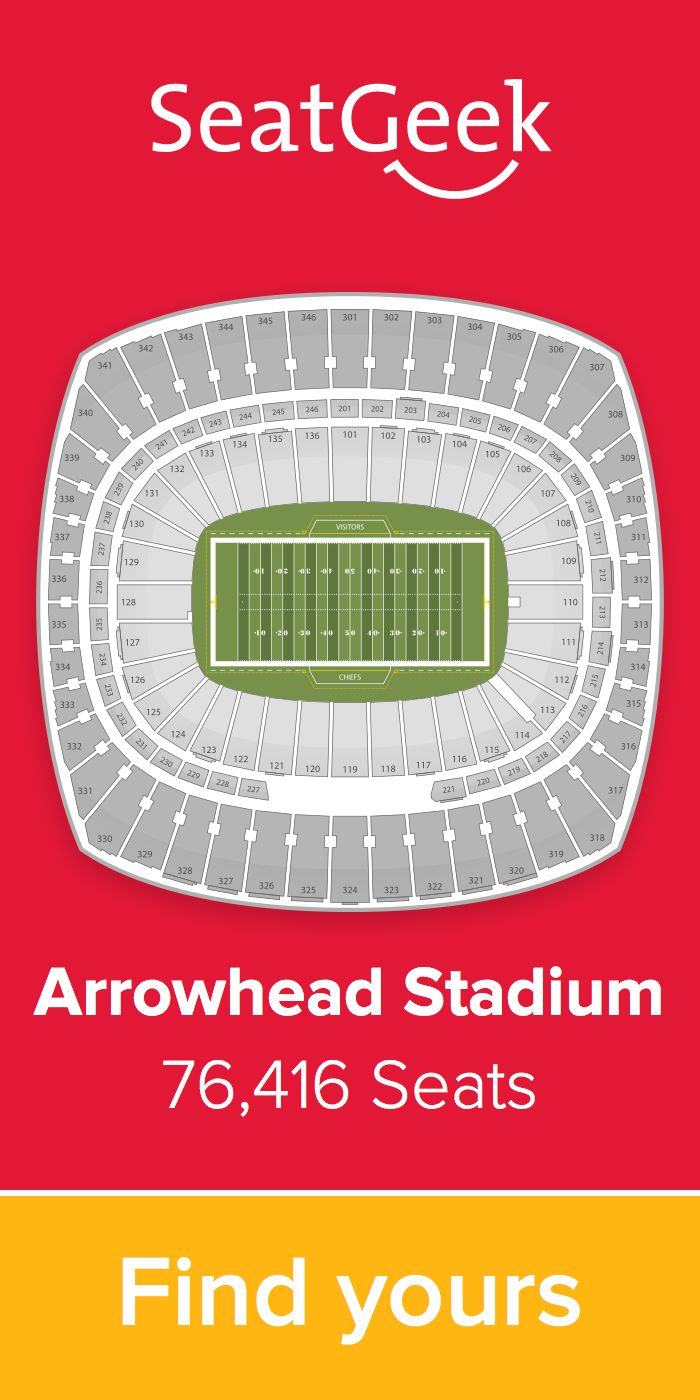 The best deals for Chiefs tickets are on SeatGeek!