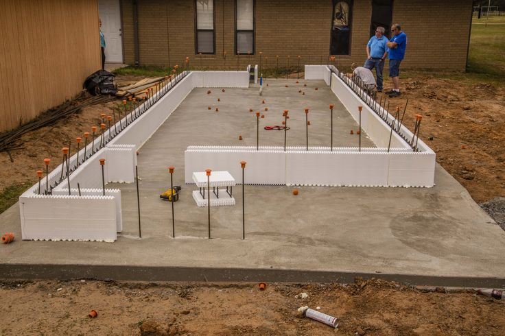 56 best icf construction images on pinterest building for Vault room construction