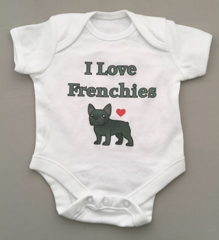98 best cool baby slogans images on pinterest unisex i love frenchies babygrow baby clothing great giftbaby shower any name negle Gallery