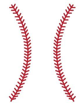 Baseball Stitches Wall Decals - WALLTAT.com Art Without Boundaries